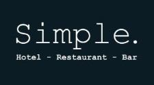 Hotel restaurant bar Simple